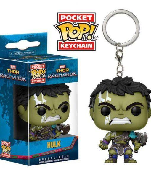 Thor Ragnarok Funko Pocket POP! kulcstartó - Hulk (Gladiator) 4cm