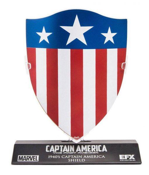 Marvel's Captain America Replica - 1/6 Captain America's 1940's Shield LC. Excl. (10cm)