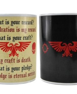 x_hmb-mugbwr02 Warhammer Heat Change Mug Pledge