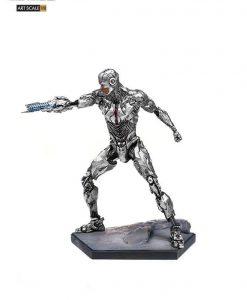 Justice League Art Scale Szobor - 1/10 Cyborg (19cm)