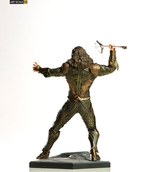 Justice League Art Scale Szobor - 1/10 Aquaman (22cm)