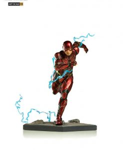 Justice League Art Scale Szobor - 1/10 Flash (16cm)