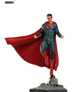 Justice League Art Scale Szobor - 1/10 Superman (29cm)