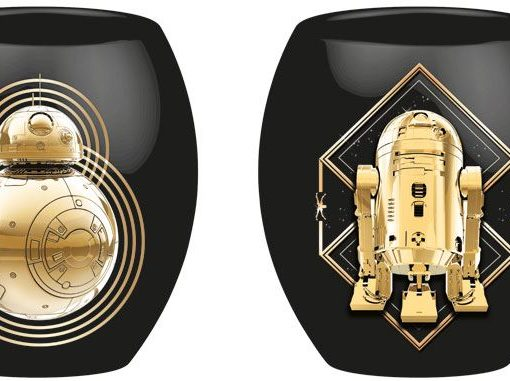 x_joy98900 Star Wars - Episode VIII Deluxe Mug Golden Droids