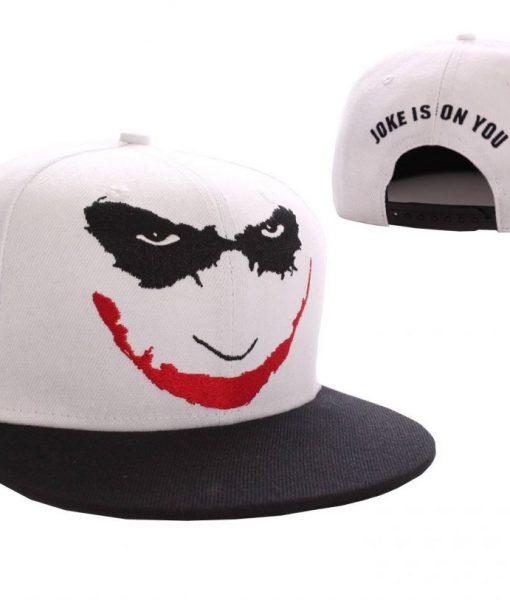 x_acdtktmcp003 Batman Adjustable Cap Joker Logo white