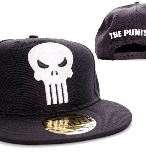 x_acpunixcp002 Punisher Adjustable Cap Logo black