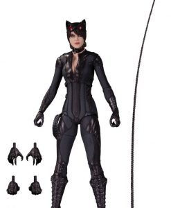 x_dccjun150343 Batman Arkham Knight Action Figure Catwoman 17 cm