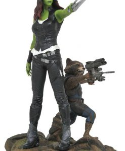 x_diammay172525 Guardians of the Galaxy Vol. 2 Marvel Gallery PVC Statue Gamora & Rocket Raccoon 25 cm