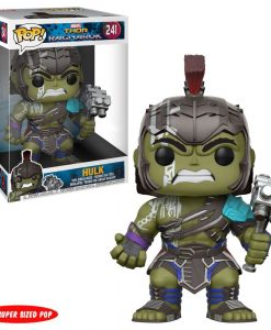 x_fk23213 Thor Ragnarok Super Sized POP! Movies Vinyl Figure Gladiator Hulk 25 cm