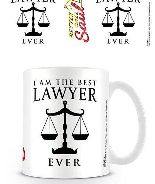 x_mg23315 Better Call Saul Mug I Am The Best Lawyer Ever