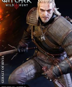 x_p1spmw3-01 Witcher 3 Wild Hunt Statue Geralt of Rivia 66 cm