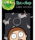 x_rk38722 Rick & Morty- Morty Terrified Face Kulcstartó