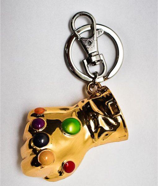 x_smk006 Marvel Comics Metal Keychain Infinity Gauntlet
