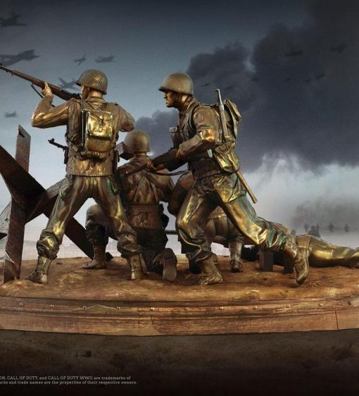 x_tri-00615_c Call of Duty WWII Valor Collection PVC Szobor