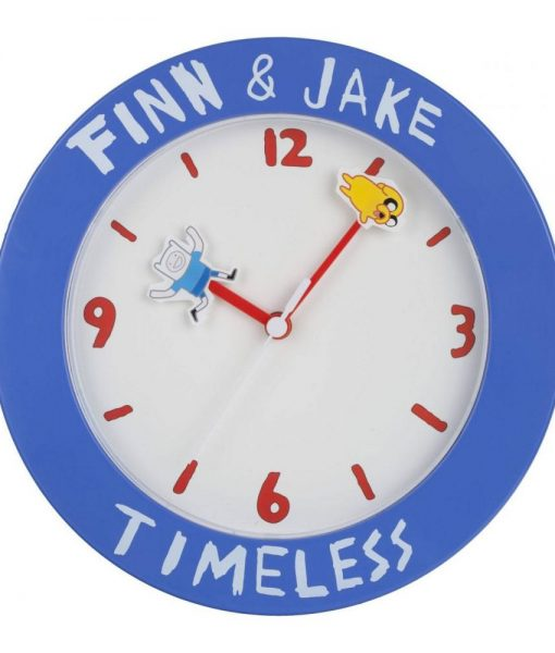 x_zltdadt6 Adventure Time Wall Clock Finn & Jake