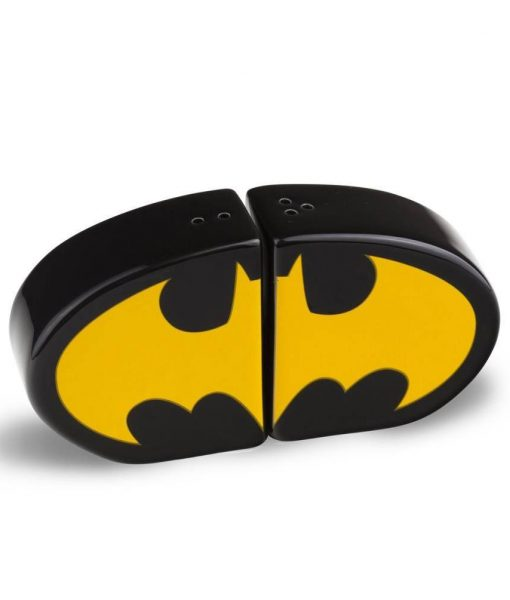 x_zltdbat78dc Batman Salt and Pepper Shaker Logo