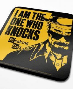 x_cs00108 Breaking Bad Coaster I Am The One Who Knocks 6-Pack