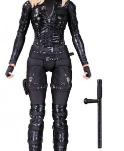 x_dccsep150341 Arrow Action Figure Black Canary 17 cm