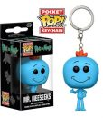 x_fk12921 Rick and Morty Pocket POP! Vinyl Keychain Mr. Meeseeks 4 cm