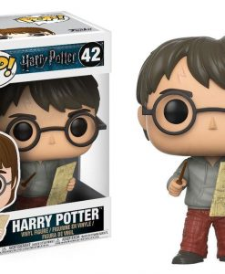 x_fk14936 Harry Potter POP! Movies Vinyl Figure Harry Potter with Marauders Map 9 cm
