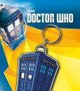x_gye-kr0224 Doctor Who Rubber Keychain Tardis 7 cm