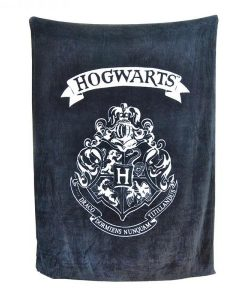x_hmb-throhp02 Harry Potter Fleece Blanket Hogwarts 125 x 150 cm