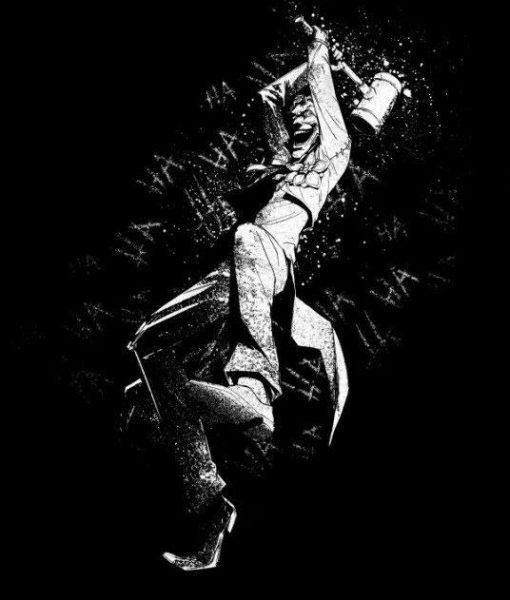 x_ppl-134403s DC Comics Metal Poster DC Dark Edition Joker 10 x 14 cm