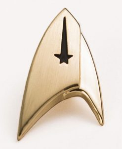 x_str-0141 Star Trek Discovery Lapel Pin Command Badge
