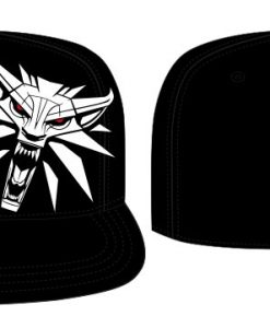 x_acwitcjcp002 The Witcher Baseball Cap Side Logo