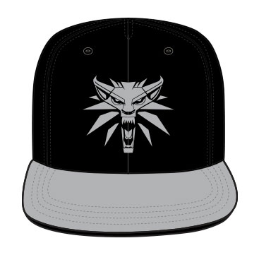 x_acwitcjcp003 The Witcher Baseball Cap Front Logo