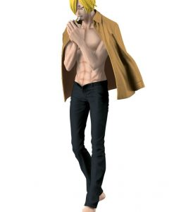 One Piece Body Calender Vol. 2 Figure Sanji Black Pants Version 17 cm