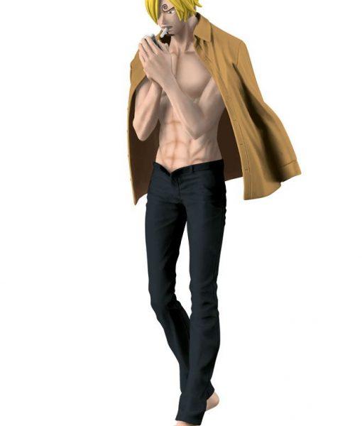 One Piece Body Calender Vol. 2 Figure Sanji Black Pants Version 17 cm