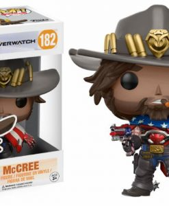 x_fk13308 Overwatch POP! Games Vinyl Figure McCree 9 cm