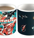 x_hmb-mugbjl03 DC Comics Heat Change Mug Justice League