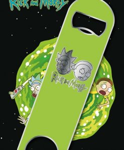 x_gye-bar0005 Rick & Morty Bar Blade / Bottle Opener Logo 12 cm