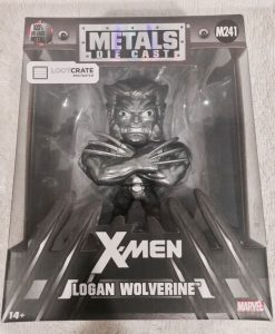 x_jada98618 Marvel Comics Metals Diecast Mini Figure Wolverine Raw Metal LC Exclusive 10 cm