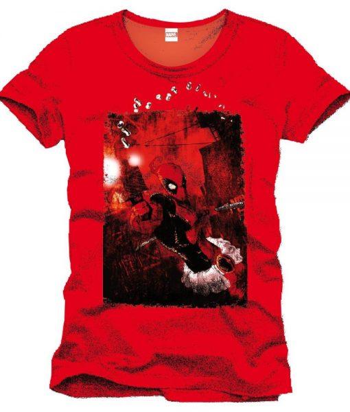 x_mepoolxts029 Deadpool T-Shirt Nails