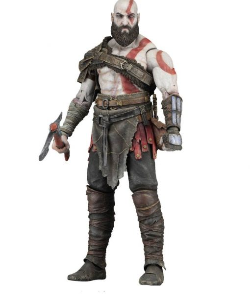 x_neca49323 God of War (2018) Action Figure Kratos 18 cm