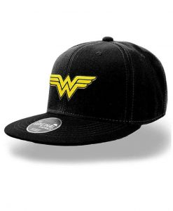 x_pe16658accos DC Comics Snap Back Cap Wonder Woman Logo