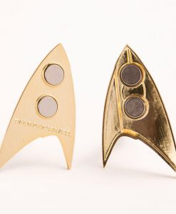 x_str-0118 Star Trek Discovery Replica 1/1 Magnetic Starfleet Command Division Badge