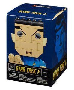 x_clr-2989 Star Trek Mega Construx Kubros Construction Set Spock 14 cm