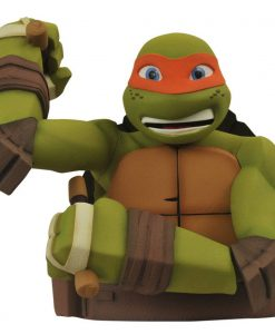 x_diamapr141974 Teenage Mutant Ninja Turtles Bust Bank Michelangelo 20 cm