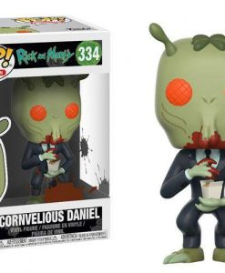x_fk28449 Rick and Morty POP! Animation Vinyl Figure Cornvelious Daniel 9 cm