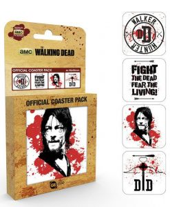 x_gye-csp0044 Walking Dead Coaster 4-pack Daryl