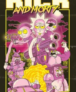 x_gye-rckmrtybin_c Rick and Morty Poster 61 x 91 cm Display