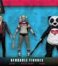 x_njcdc3967 Suicide Squad Bendable Figures 3-Pack 14 cm