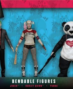 x_njcdc3967 Suicide Squad Bendable Figures 3-Pack 14 cm