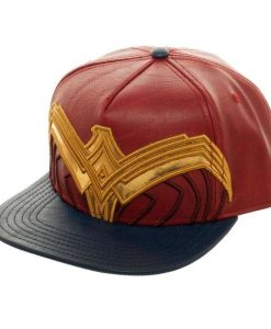 x_sb5azbwwm DC Comics Snap Back Cap Wonder Woman Logo