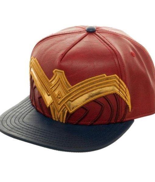 x_sb5azbwwm DC Comics Snap Back Cap Wonder Woman Logo