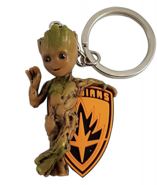 x_smkgroo Marvel Comics PVC Keychain Baby Groot